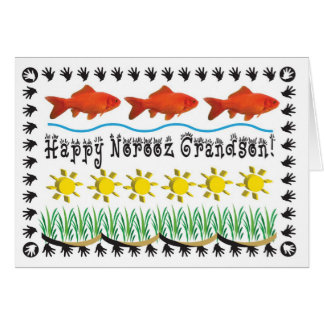Persian New Year grandson Card