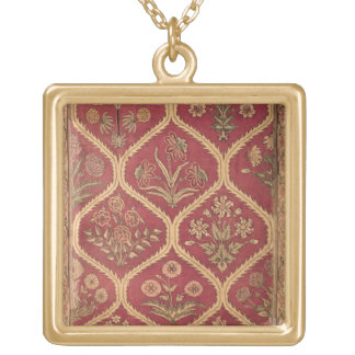 Persian or Turkish carpet, 16th/17th century (wool Square Pendant Necklace