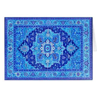 PERSIAN RUG - Blue Card