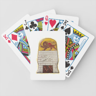 Persian Secret Police SAVAK Bicycle Playing Cards