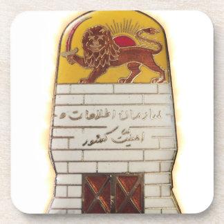 Persian Secret Police SAVAK Coaster