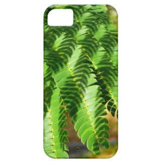 Persian Silk Tree leaves iPhone SE+5/5S Case