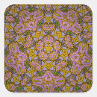 Persian Sky Square Sticker