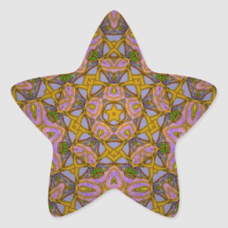 Persian Sky Star Sticker