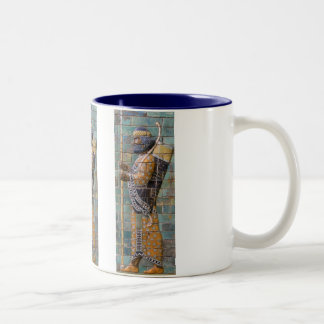 Persian Warrior Two-Tone Coffee Mug