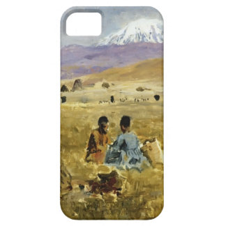 Persians Lunching on the Grass by Edwin Lord Weeks iPhone 5 Cover