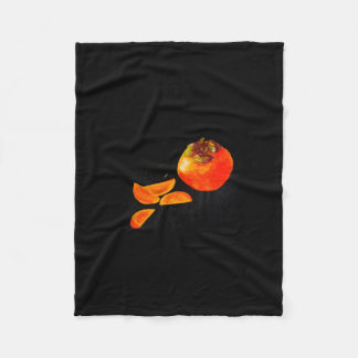 Persimmon Fleece Blanket
