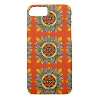 Persimmon Victorian Tile Design iPhone 8/7 Case