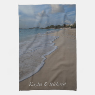 Persoanlized Ocean Beach Kitchen Towels