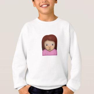 Person Frowning Emoji Sweatshirt