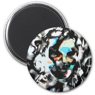 person of interest #1 2 inch round magnet
