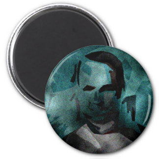 person of interest #5 2 inch round magnet