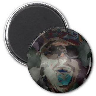 person of interest #6 2 inch round magnet