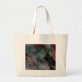 person of interest #7 large tote bag