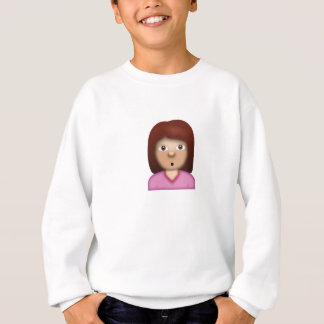 Person with Pouting Face Emoji Sweatshirt