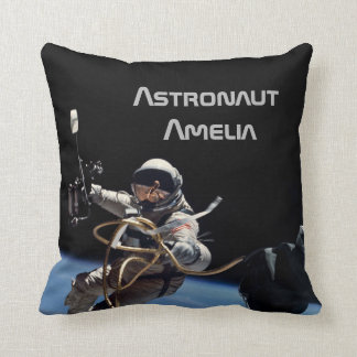 Personal Astronaut Space Walk Throw Pillow