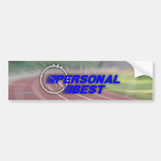 Personal Best Bumper Sticker