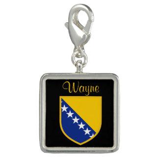 Personal Bosnia Flag Charm