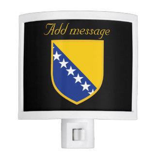 Personal Bosnia Flag Nite Lite