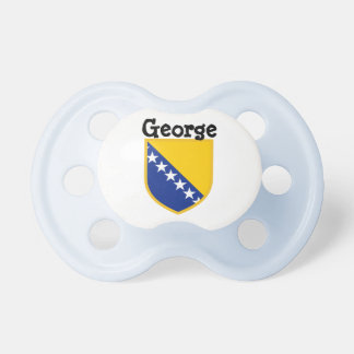 Personal Bosnia Flag Pacifier