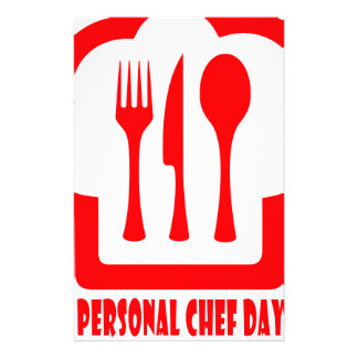 Personal Chef Day - Appreciation Day Stationery