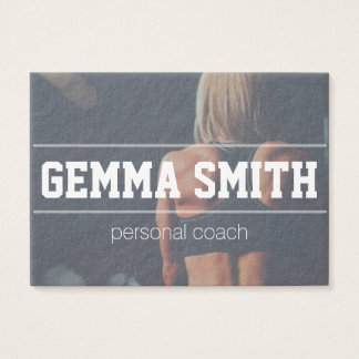personal coach simple business card
