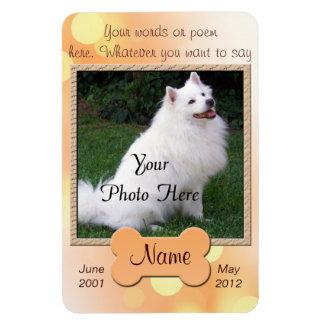 Personal Dog Memorial - Magnet