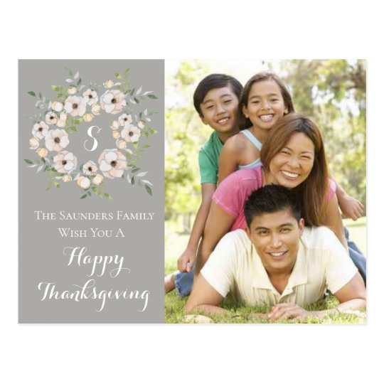 Personal Family Photo Card | Thanksgiving