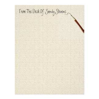 Personal Fine Linen Stationery Custom Letterhead