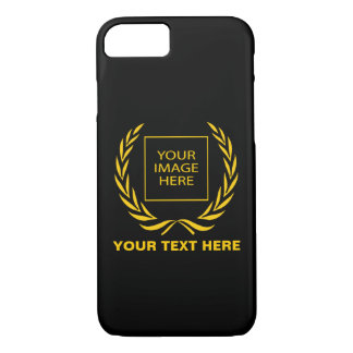 Personal Golden Laurel Wreath iPhone 8/7 Case