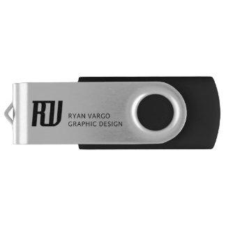 Personal Logo USB Drive Swivel USB 3.0 Flash Drive