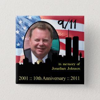 Personal Memorial 911 Anniversary Pin