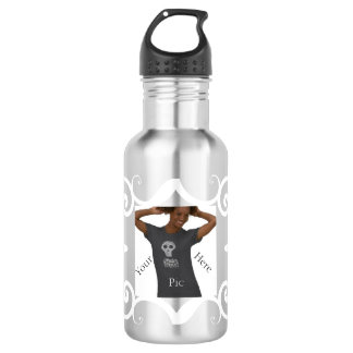 Personal Pic or Message 18oz Water Bottle