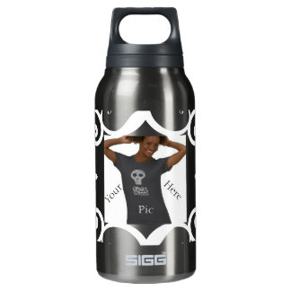 Personal Pic or Message Insulated Water Bottle