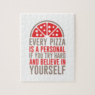 Personal Pizza Jigsaw Puzzle