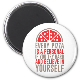 Personal Pizza Magnet