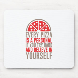 Personal Pizza Mouse Pad
