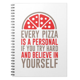 Personal Pizza Notebooks