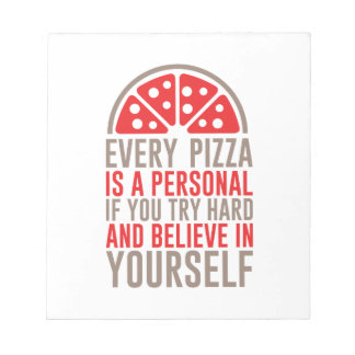 Personal Pizza Notepad