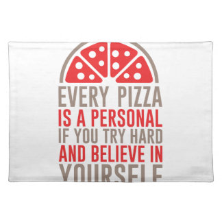Personal Pizza Placemat