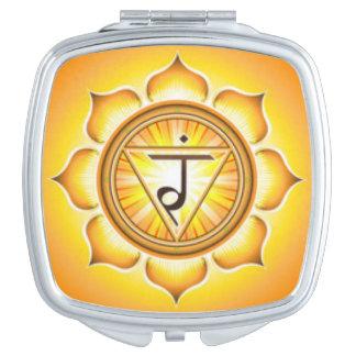 Personal Power Chakra Vanity Mirror