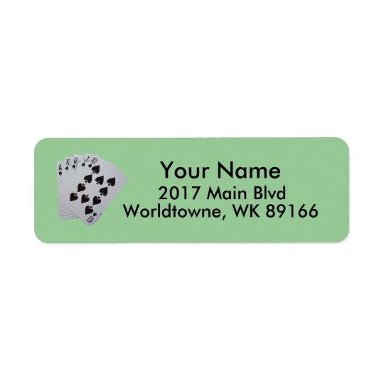 Personal Return Address
