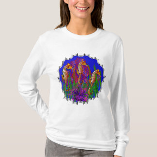 Personal Sea Horse Aquarium and Coral Reef T-Shirt