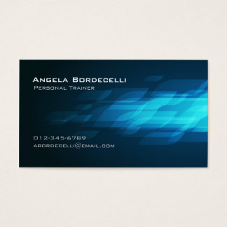 Personal Trainer Business Card Flashback