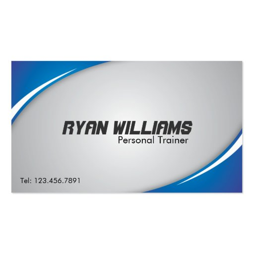 Personal Trainer - Business Cards