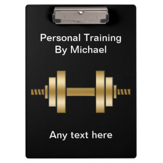 Personal Trainer Clipboard