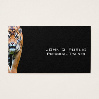 Personal Trainer Fitness Bodybuilding Training Business Card