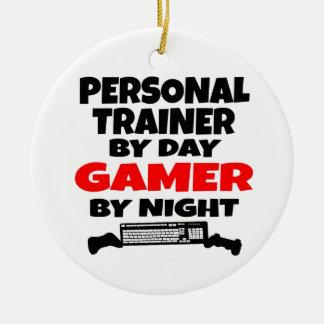 Personal Trainer Gamer Ceramic Ornament