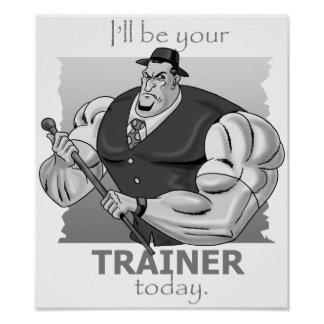 Personal Trainer - Hardcore Style - Poster & Print