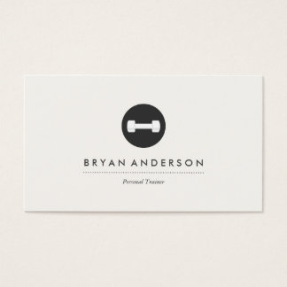 Personal Trainer Logo Business Card
